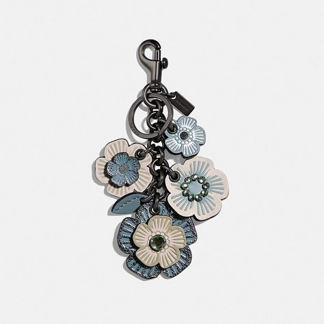Roses Bag Charm Keychain Mini Designed inspired keychain