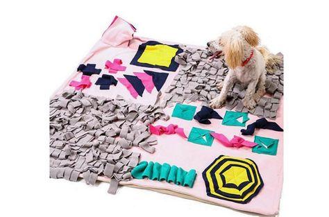 SmallPocket Dog Snuffle Mat colchonetas de alimentaci/ón para Perros Manta de Entrenamiento de Mascotas Adecuado para Mascotas