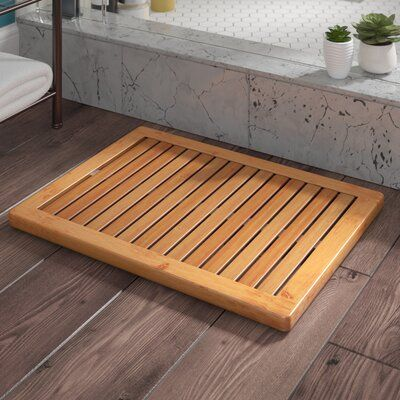 Langley Street Almonte Shower Mat In 2020 Shower Mat Bamboo