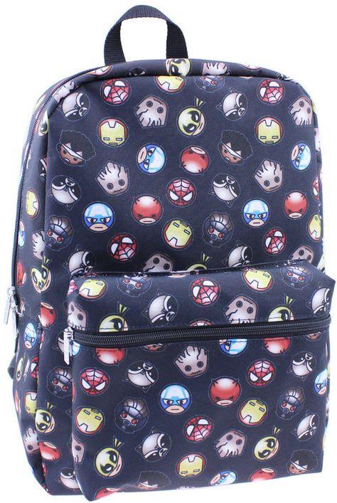 02f8249007 Kids Marvel Icon Superhero Backpack