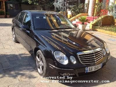 Tirane, shitet MERCEDES-BENZ E CLASS 2006 - 14000 EUR  Qindra makina