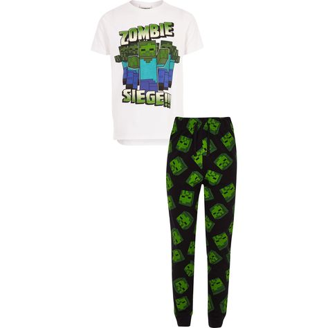 biggest selection outlet for sale latest selection River Island Boys Minecraft print pyjama set | Products in ...