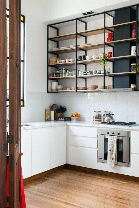 Beautiful Open Kitchen Shelving Ideas