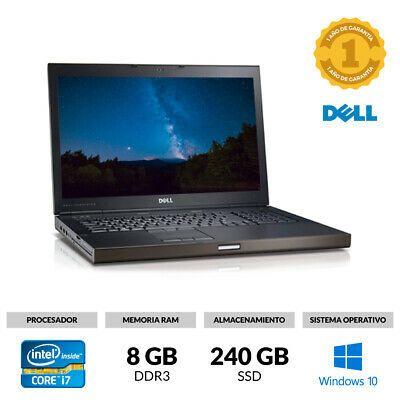 Portatil 17 Dell Precision M6700 I7 3940xm 3 00ghz 8gb Ram 240gb