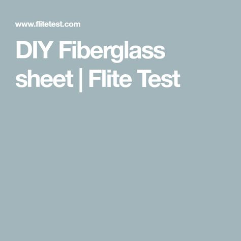 Diy Fiberglass Sheet Diy Mobile Living