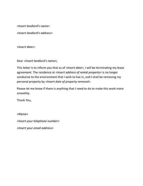 lease termination letter archives sample how write cancellation - termination of contract letter