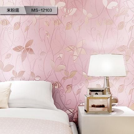 The living room wallpaper color television background wall paper 3D ...