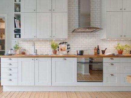 Las Mejores Ideas De Gabinetes De Cocina Ikea Savedal White Trendy Kitchen Tile Kitchen Design Latest Kitchen Designs