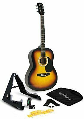 Martin Smith 6 Acoustic Superkit Stand Tuner Bag Strap Guitar Tuners Martin Smith Acoustic Guitar Kits