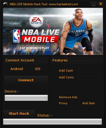 nba live mobile app store