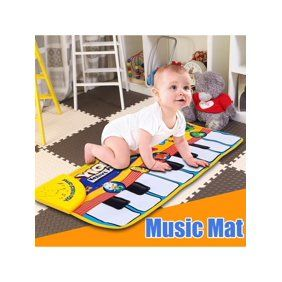 Baby Genius Press To Play Mini Piano Mat Walmart Com Educational Toys For Kids Learn Singing Baby Music