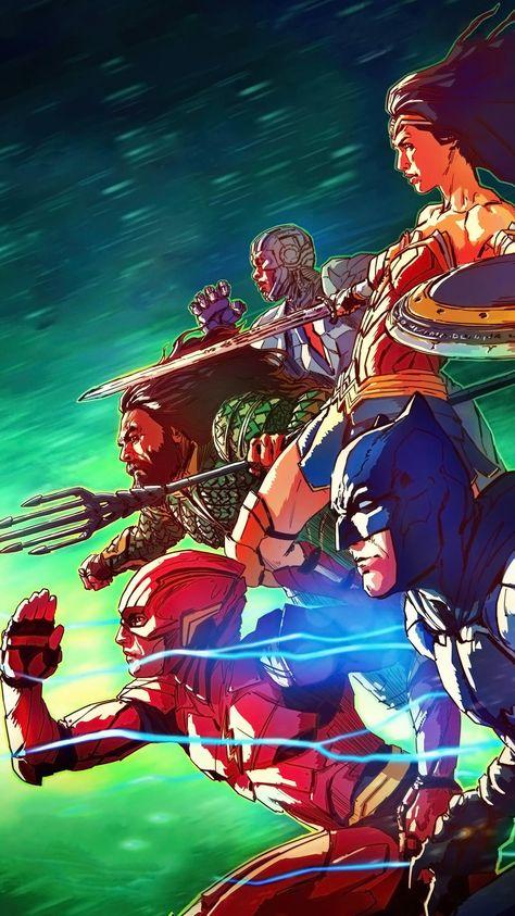 Justice League (2017) Phone Wallpaper   Moviemania