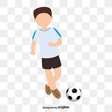 Gambar Bermain Sepak Bola Anak Laki Laki Tokoh Kartun Clipart Bola Sepak Kartun Main Bola Png Dan Vektor Untuk Muat Turun Percuma Kartun Sepak Bola Ilustrasi