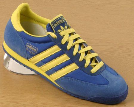 adidas dragon blue and yellow