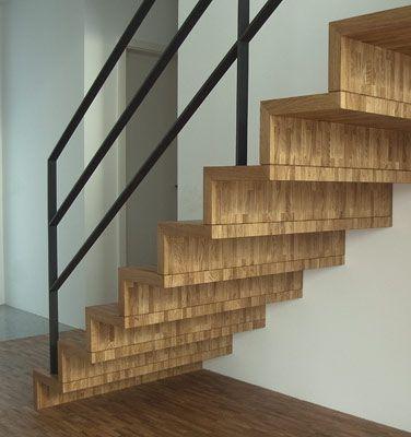 Parkettfaltwerktreppe Treppe Haus Gelander Treppe Treppe Holz