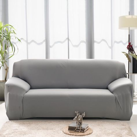 Flexible Stretch Sofa cover | Corner sofa slipcover, Slip