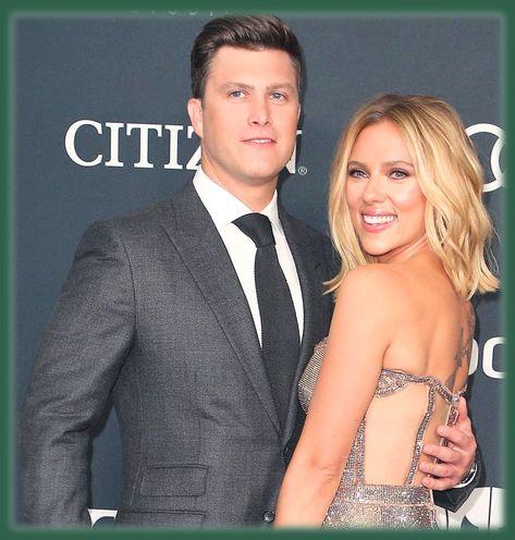 Scarlett Johansson Surprised By Colin Jost S Proposal Celebrity Couples Scarlett Johansson Celebrities