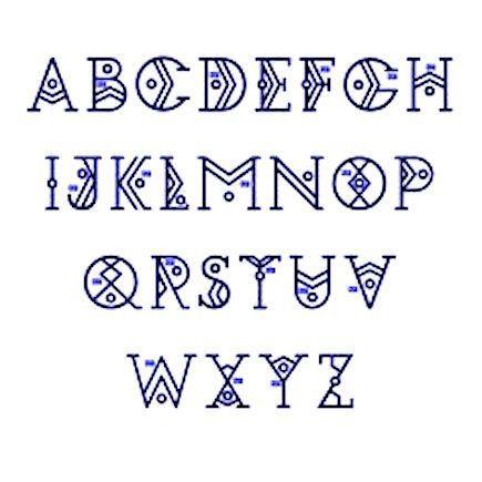 latin alphabet pdf