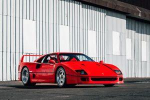 1989 Ferrari F40 For Sale Official Uk Koenigsegg Dealer Supervettura Ferrari F40 Ferrari Ferrari For Sale