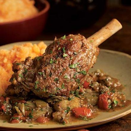 Click pic for 25 Low Carb Slow Cooker Recipes - Braised Lamb Shank and Eggplant - Healthy Crock Pot Recipes for Kids