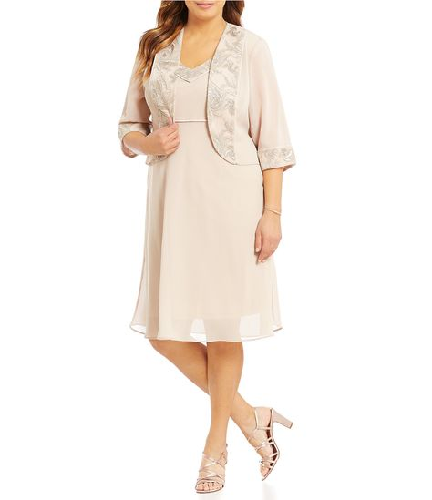 78a7fa0b343 Shop for Le Bos Plus Embroidered 2-Piece Jacket Dress at Dillards.com.  Visit Dillards.com to find clothing