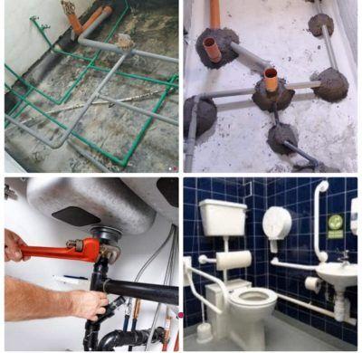 صيانة سباكة وكهرباء Bathtub Bathroom