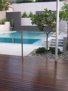 Elegant Swimming Pools On Sloping Blocks Styles   Pixelmari.com