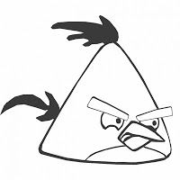 Angry Birds Coloring Pages Angry Birds Para Colorear Dibujos