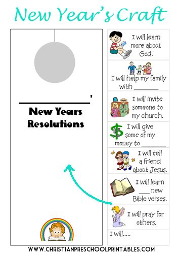 New Year Bible Printables Sunday School Kids Bible Lessons For Kids Christian Preschool