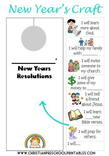 New Year Bible Printables Sunday School Kids Bible Lessons Christian Preschool