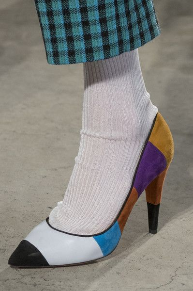 Missoni, Fall 2017 - The Beautiful and Bizarre Shoes on the Milan Runway - Photos