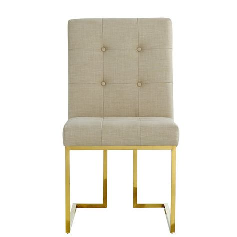 Incredible Found It At Wayfair Victoria Linen Parsons Chair Ncnpc Chair Design For Home Ncnpcorg