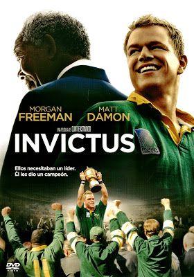 Invictus Invictus 2009 Clint Eastwood Caratula Espanola Invictus Matt Damon Sports Movie Clint