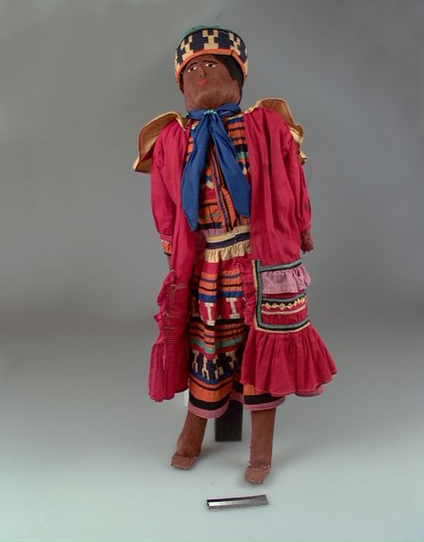 Seminole male doll, ca 1930s, from the National Museum of the American Indian