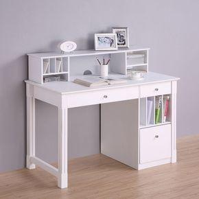60 Unique Small Desk Ideas For Bedroom Desks For Small Spaces White Desk Bedroom Small Room Desk Small white desk with hutch
