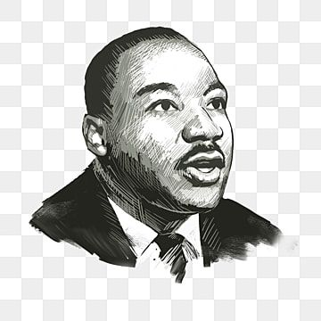 Martin Luther King Png Images Vector And Psd Files Free Download On Pngtree In 2021 Png Images Vector King Png Martin Luther King