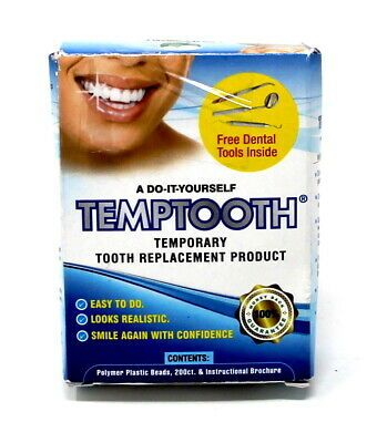 Advertisement Temporary Tooth Replacement Kit With Dental Tools