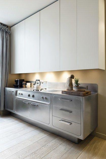 Nach Mass Kuche Aus Edelstahl Ego By Abimis Design Alberto Torsello Kuchen Design Kuchen Inspiration Kuchendesign