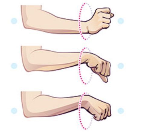 """Fitness Fix: Help for Weak Wrists   Loosen up tight wrists with these simple drills.  """"When people get wrist pain during weight-bearing exercises, they tend to assume that the problem is weakness,"""" says chiropractor and athletic-movement expert Eric Cobb, DC. """"But the real issue is often mobility or stability."""""""