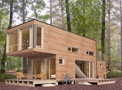 Cette femme a acheté 4 containers, et les a transformés pour - budget pour construire une maison