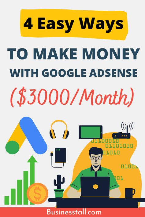 4 Easy Ways To Make Money with Google AdSense