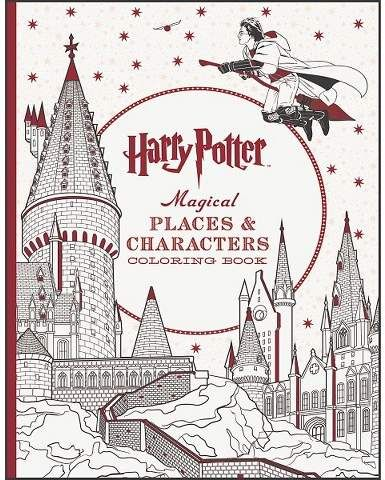 Readerlink Harry Potter Magical Places Characters Coloring Book Paperback By Scholastic Harry Potter Coloring Book Harry Potter Colors Harry Potter Gifts