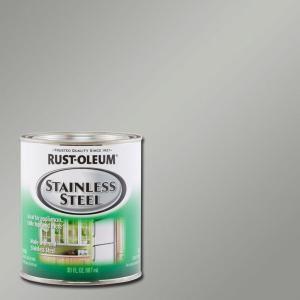 Rust Oleum Specialty 30 Oz Metallic Stainless Steel Interior