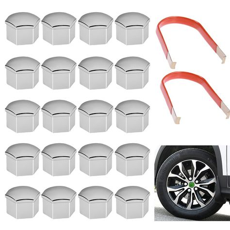 METAL Removal Tool for Wheel Bolt Nut Caps Covers fits SKODA OCTAVIA