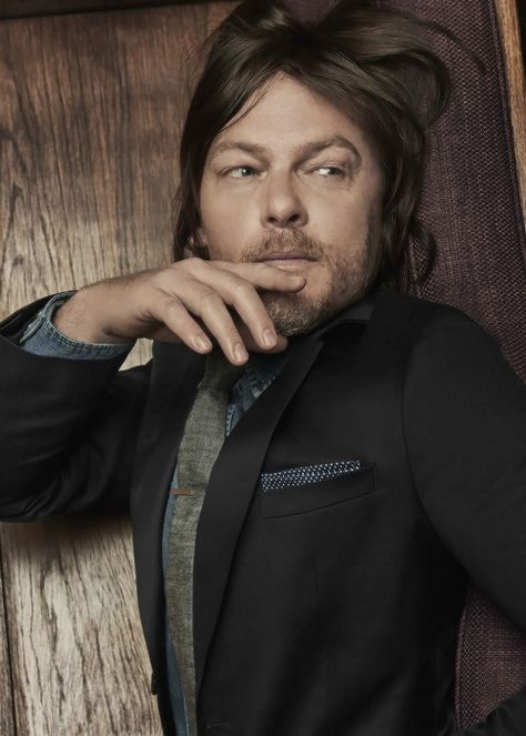"""Norman Reedus for Cartier & GQ's  The Success Project: What Drives A Man? """"'I played national tournaments and took little private planes to go to tennis tournaments. That was cool. I got free rackets and free clothes. But I also had to wake up at 5..."""