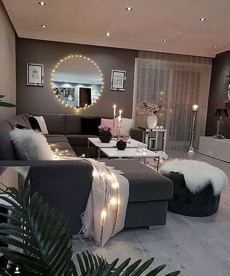 Cozy Living Room Decor Ideas Easy To Copy #livingroomideas #livingroomdecor #cozylivingroom » aesthetecurator.com