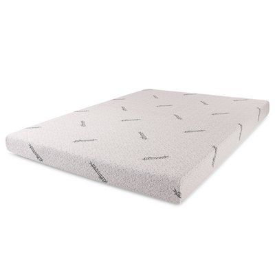 Cal King Cr 2 Inch Gel-Infused Memory Foam Mattress Topper AirCell Technology Medium Firm