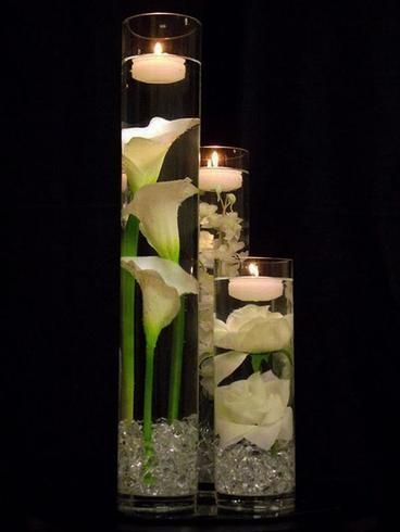 Mini Acrylic Ice Table Vase Decoration - Clear - 400/pk