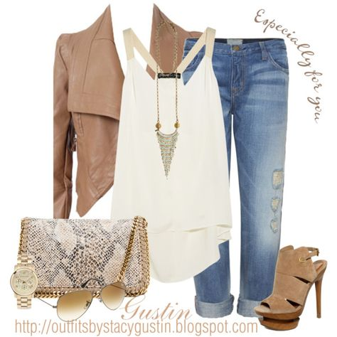 tan jacket, created by stacy-gustin on Polyvore