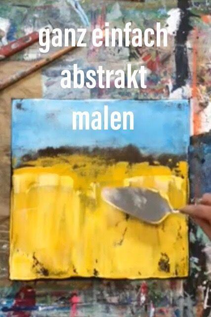 3 schritte zur abstrakten kunst abstract art painting easy diy abstrakte portraits künstler wandbilder abstrakt modern